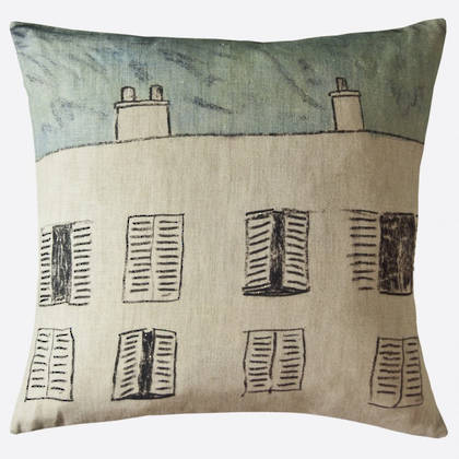 Maison Lévy Fenetre Sur Cour Cushion 55cm (available to order)
