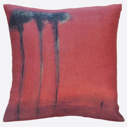 Maison Levy Palmiers Noirs Cushion 55cm (instore end of May)