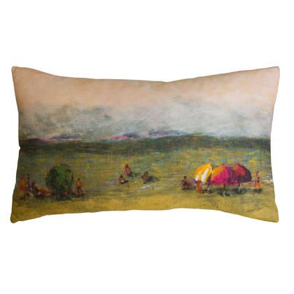 Maison Lévy La Plage Cushion 50 x 30cm (available to order)