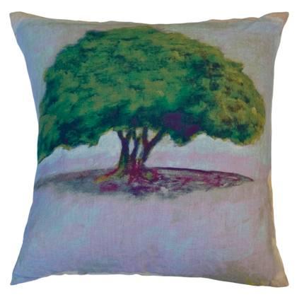 Maison Levy Ombu Parme Jaune Cushion 55cm (available to order)