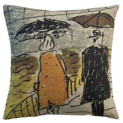 Maison Lévy Umbrellas Cushion 55cm (available to order)