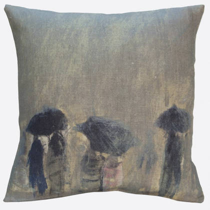 Maison Lévy Horizon de Pluie Cushion 55cm (available to order)