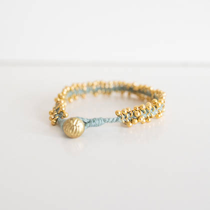 Bracelet Lalit - gold day blue