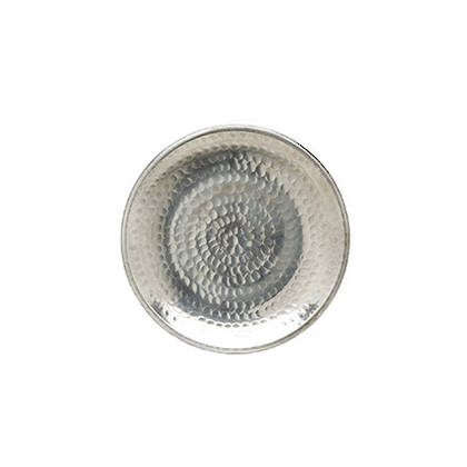 Handbeaten Plate 20cm diamater. Made in India (sold out)