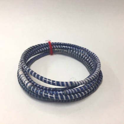 Jokko Bracelets from Mali Africa - set of 6 Dark Blue