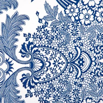 Kitsch Kitchen Oilcloth - Paraiso Blue (out of stock)
