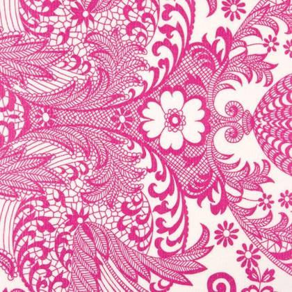 Kitsch Kitchen Oilcloth - Paraiso Rose (out of stock)