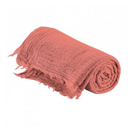 Italian Pure Merino Wool Throw - Rose (sold out)