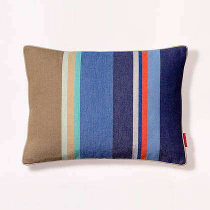French Stripe Collioure Roy Cushion 30x40cm