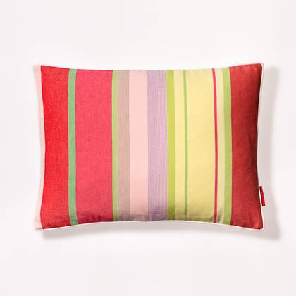 Ceret Cerise French Stripe Cushion 30x40cm