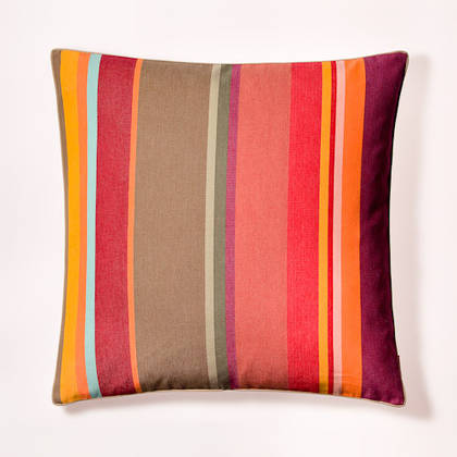 Cushion French Stripe Collioure Rouge 60cm