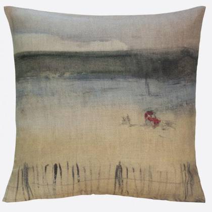 Maison Lévy Cushion 55cm Tracteur Rouge (available to order)