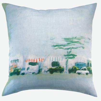 Maison Lévy Cushion 55cm Horizon Urbain (available to order)