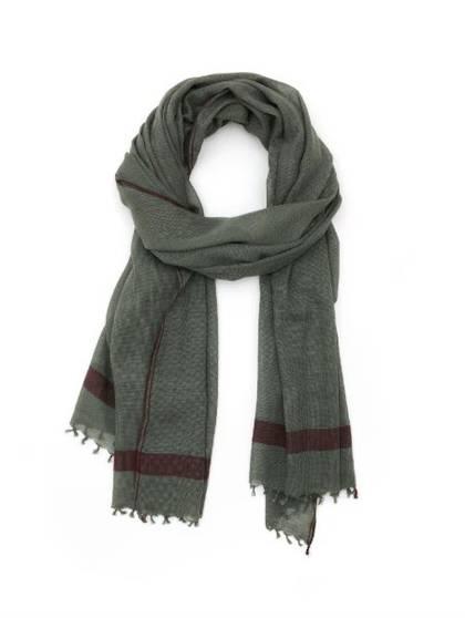 Moismont Scarf - design n°409 Khaki (Sold Out)