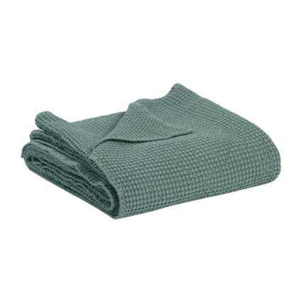 Portuguese Cotton Throw in Vert de Gris - medium (sold out)