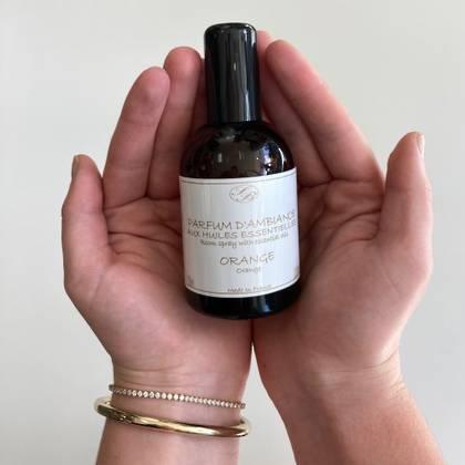 Savonnerie de Bormes Room Spray with essential oils - Orange