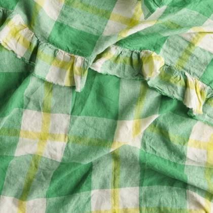 Zest Ruffle Flat Sheet - One size
