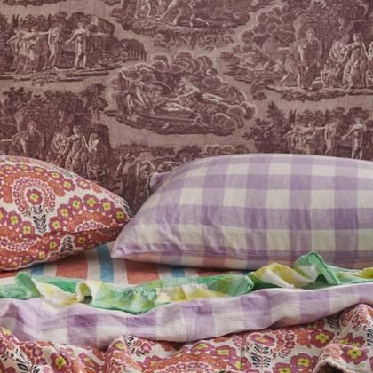 Lilac standard Pillowcase - set of 2