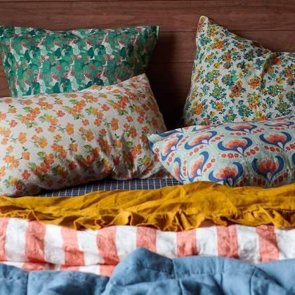 Elma Floral standard Pillowcase - set of 2 (due end of Feb)