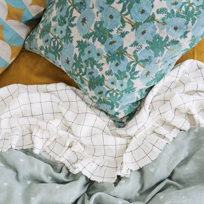 Joan's Floral Euro Pillowcase - set of 2 (sold out)