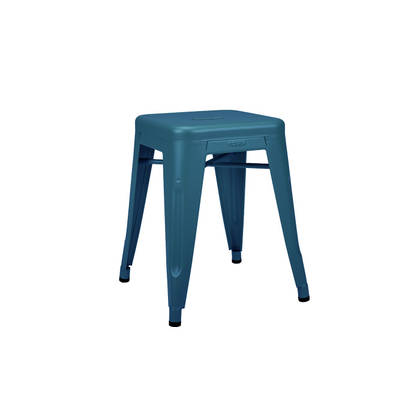 Tolix 45cm Stool - Blue Ocean (sold)