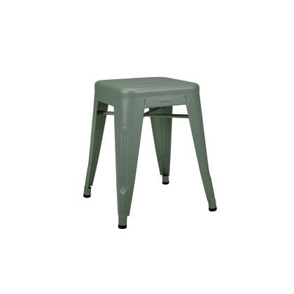 Tolix 45cm Stool - Vert Lichen (available to order)
