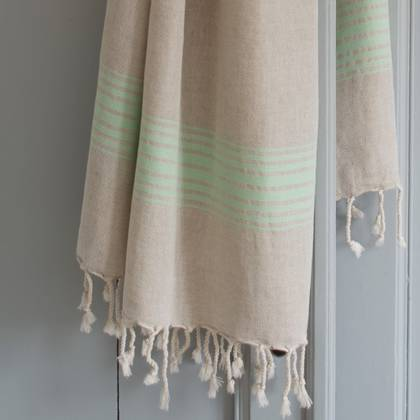 Turkish Hamman Towel - Large Mint (sold out)