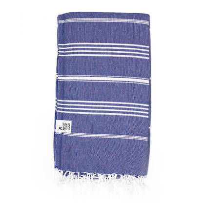 Turkish Towel  Classic - Navy