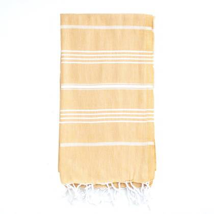 Turkish Towel  Classic - Mustard