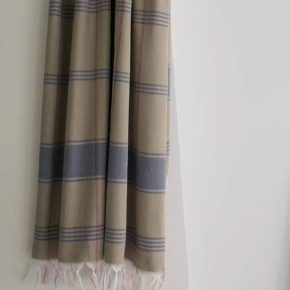 Turkish Organic Cotton Towel - Khaki