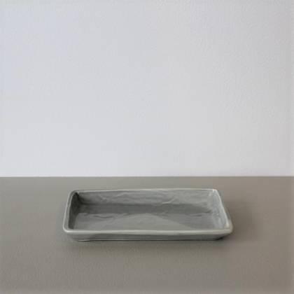 Vicki Fanning Small Ceramic Tray - Grey