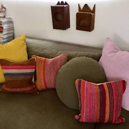 Frazada wool Cushion 43cm (no. 02)
