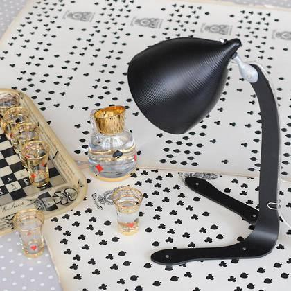 tse & tse Poser Lamp - in Black