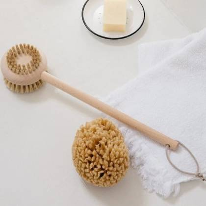 Andree Jardin Body Brush in Beechwood