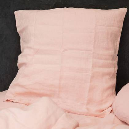Bed & Philosophy pure linen Pillowcase - Euro Size. Available in 14 colours