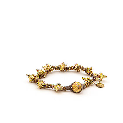 Bracelet Shakti - gold grey (sold out)