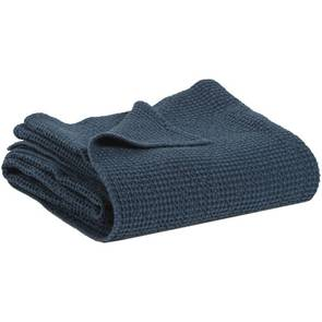 Portuguese Cotton Throw - Navy  (sold out)