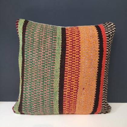Frazada wool Cushion 43cm (no. 01) (sold out)