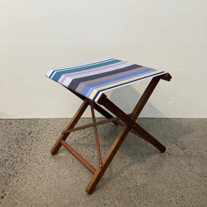 Folding Stool - L'Heure Bleue
