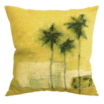 Maison Lévy Camion Verde Cushion 55cm  (available to order)