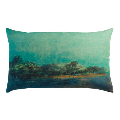 Maison Lévy Emeraude Cushion 50 x 30cm