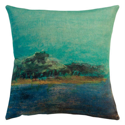 Maison Levy Emeraude Cushion 55cm (available to order)