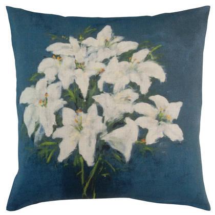 Maison Levy Fleur Bleu Cushion 55cm (due mid May)