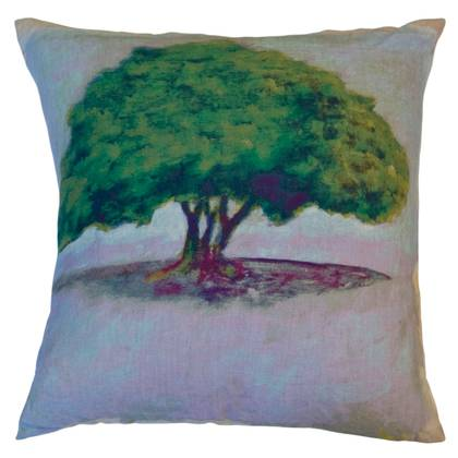 Maison Levy Ombu Parme Jaune Cushion 55cm (available to order)