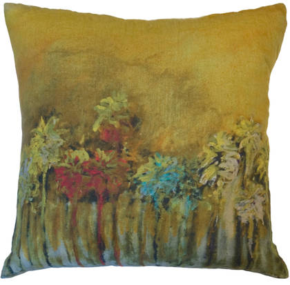 Maison Lévy Palmiers Pop Cushion 55cm (available to order)
