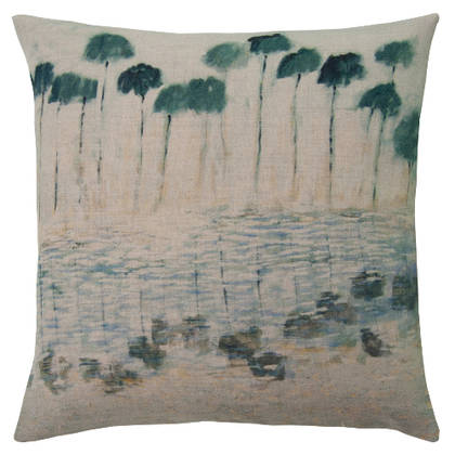 Maison Levy Reflejos Agua Cushion 55cm (available to order)