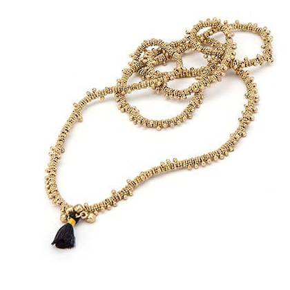 Necklace Pyaar - gold (sold out)