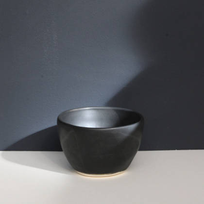 Vicki Fanning Miso Bowl - matt black (available to order)