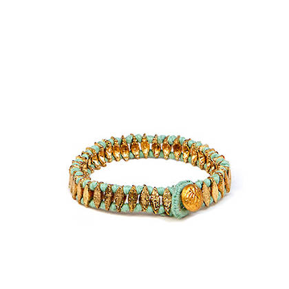 Bracelet Chamak - gold mint (sold out)