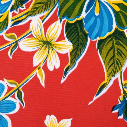 Kitsch Kitchen Oilcloth - Fortin Red (out of stock)